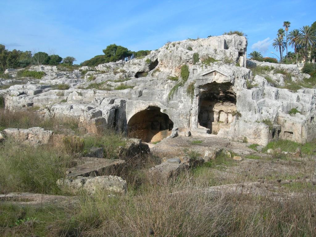 Sogenanntes Grab des Archimedes